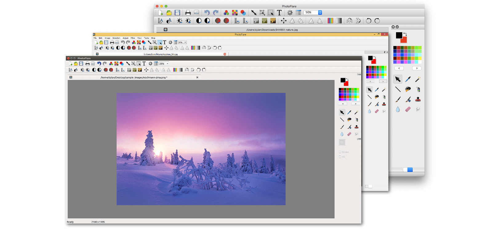 Photoflare an image editor for Linux - Image from photoflare.io